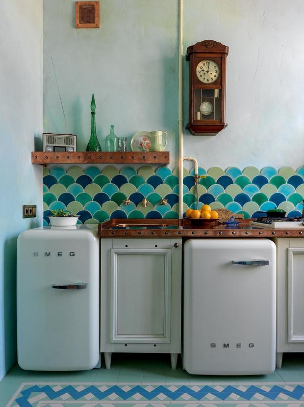 Фото №1 - Тренды 2020: кухня в винтажном стиле