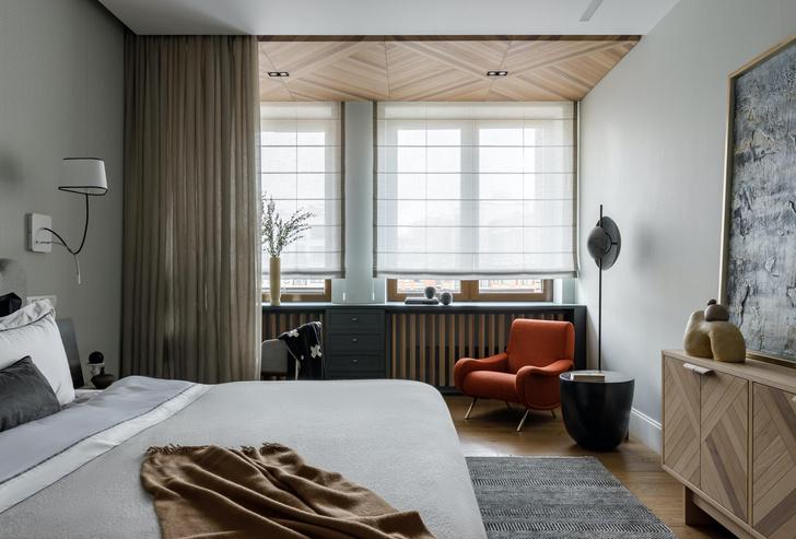 Фото №7 - Светлая квартира с панорамными окнами в Хамовниках