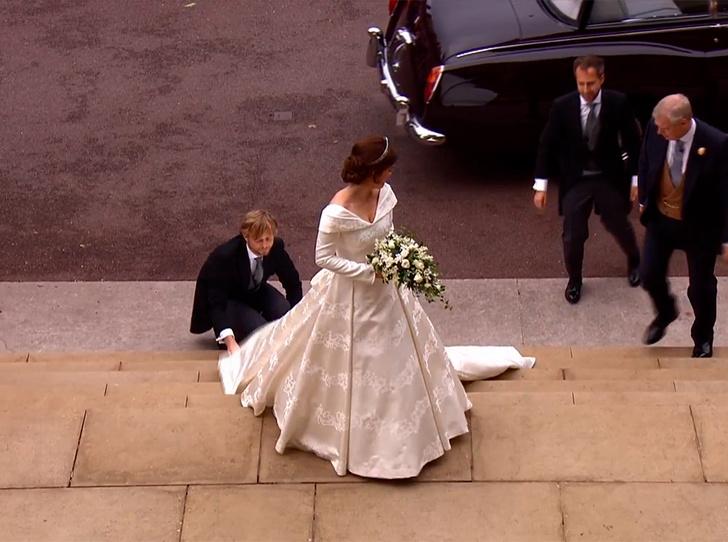 Фото №55 - Свадьба принцессы Евгении и Джека Бруксбэнка