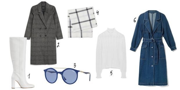 Фото №6 - Как носить деним зимой: 6 стильных образов на любой вкус