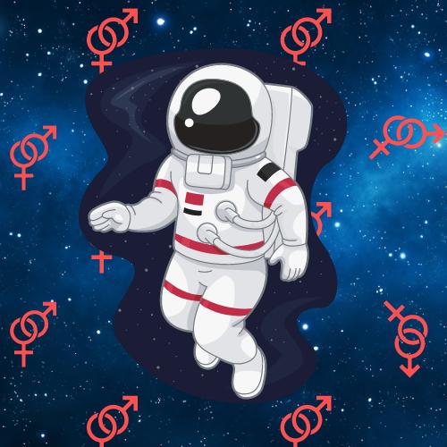 Фото №1 - Вопрос дня: можно ли (и если да, то как) заниматься сексом в космосе?