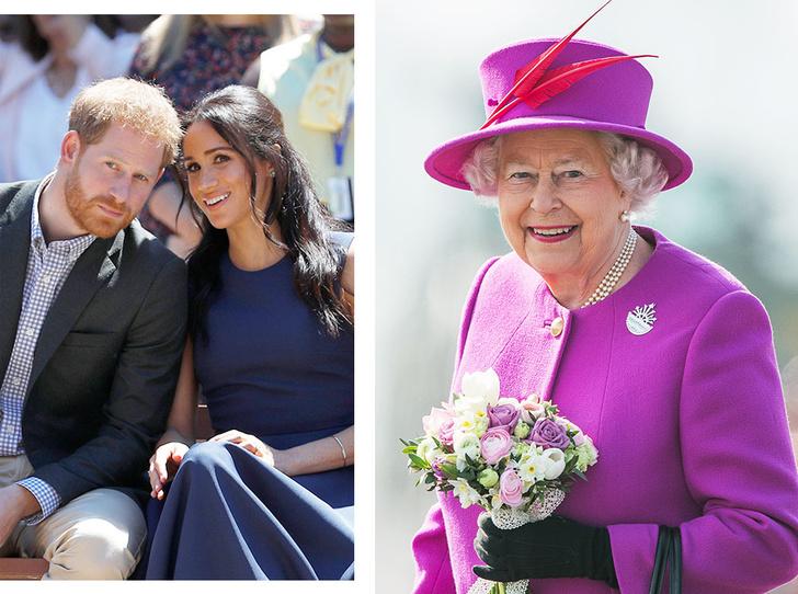 Фото №1 - Как Меган и Гарри поздравили Королеву с днем рождения
