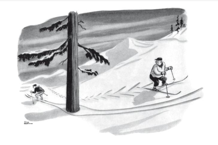 Фото №1 - 15 классических карикатур короля черного юмора Чарльза Аддамса