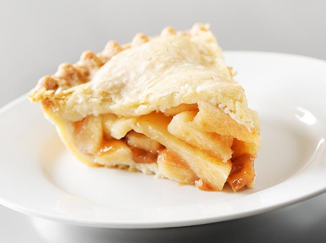 Фото №3 - Как приготовить нежный яблочный пирог