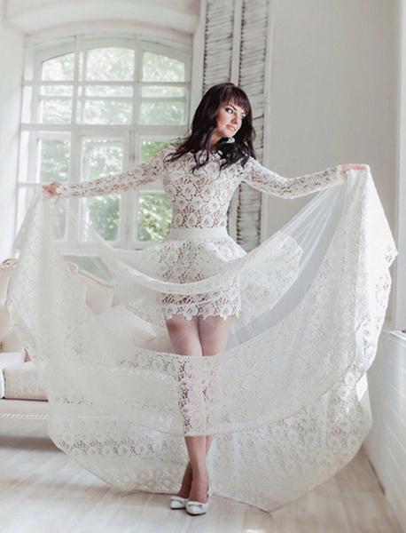 Фото №12 - Под марш Мендельсона: актуальные тренды свадебной моды