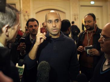 Сын Муаммара Каддафи (Muammar Kaddafi) Сейф аль-Ислам всегда активно выступал в поддержку отца