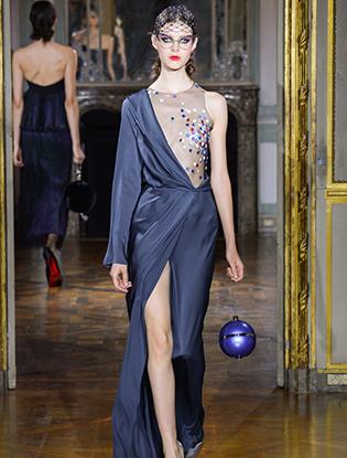 Фото №30 - Неделя Высокой моды в Париже: Ulyana Sergeenko Couture F2015