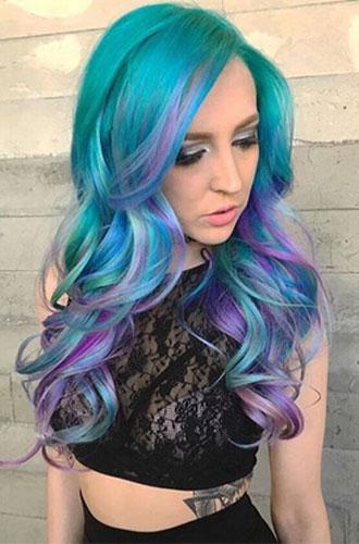 Фото №7 - Бьюти-тренд: разноцветные волосы