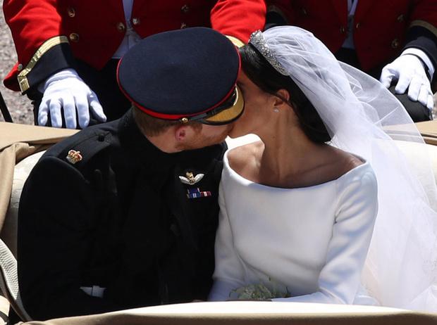 Фото №9 - Как был сделан самый известный свадебный снимок принца Гарри и Меган Маркл