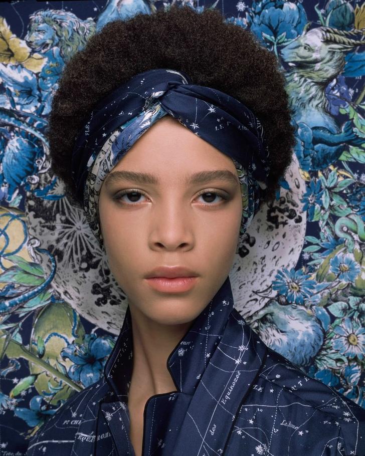 Фото №3 - 3 стильные укладки с платками Dior