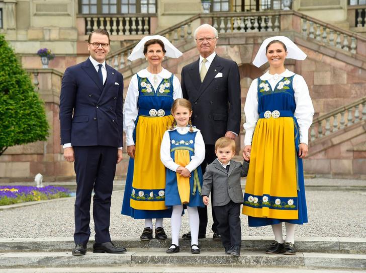 Фото №1 - Принцесса Эстель снова затмила шведского короля