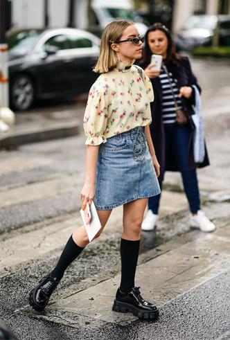 Фото №3 - Как носить цветочный принт: 6 модных идей на каждый день