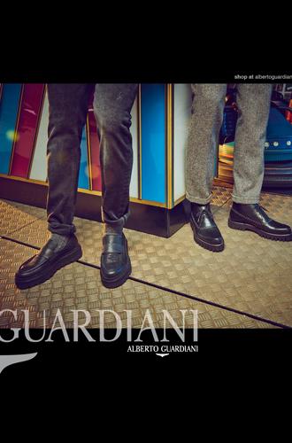 Фото №8 - Вечерний выход: новая рекламная кампания Alberto Guardiani осень-зима 16/17
