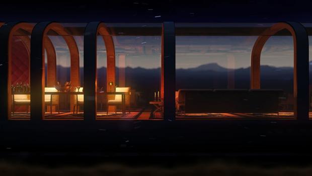 Фото №2 - Дворец на рельсах: стеклянный поезд по проекту дизайнера яхт