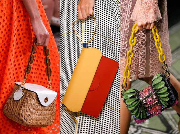 Фото №1 - Самые модные сумки сезона весна-лето 2017: фактуры и детали