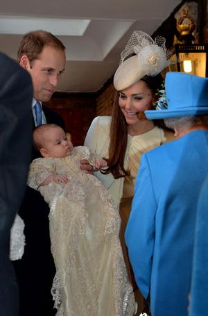 Фото №16 - Самые трогательные моменты крестин детей герцогов Кембриджских