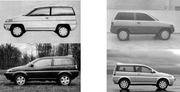 Фото №2 - Как «Хонда» у «Лады» украла дизайн (история из 1990-х)