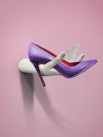 Туфли на каблуке и с платформой (10-12 сантиметров)