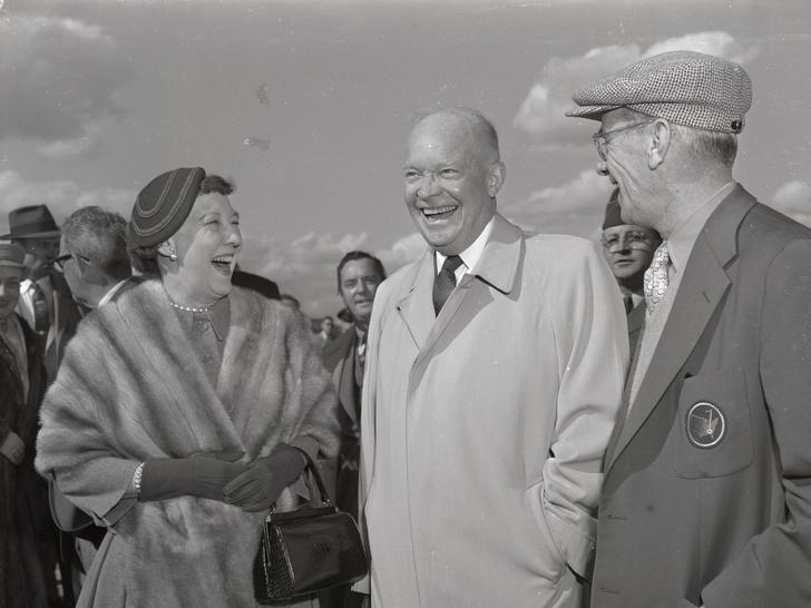 Фото №6 - Как отдыхают президенты и Первые леди: самые неформальные отпускные фото глав США с их супругами