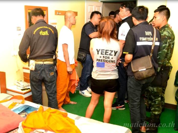 Фото №1 - Тайская полиция проводит «зачистки святого Валентина» по мотелям страны