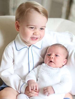 Фото №6 - Принцесса Шарлотта Кембриджская: первый год в фотографиях