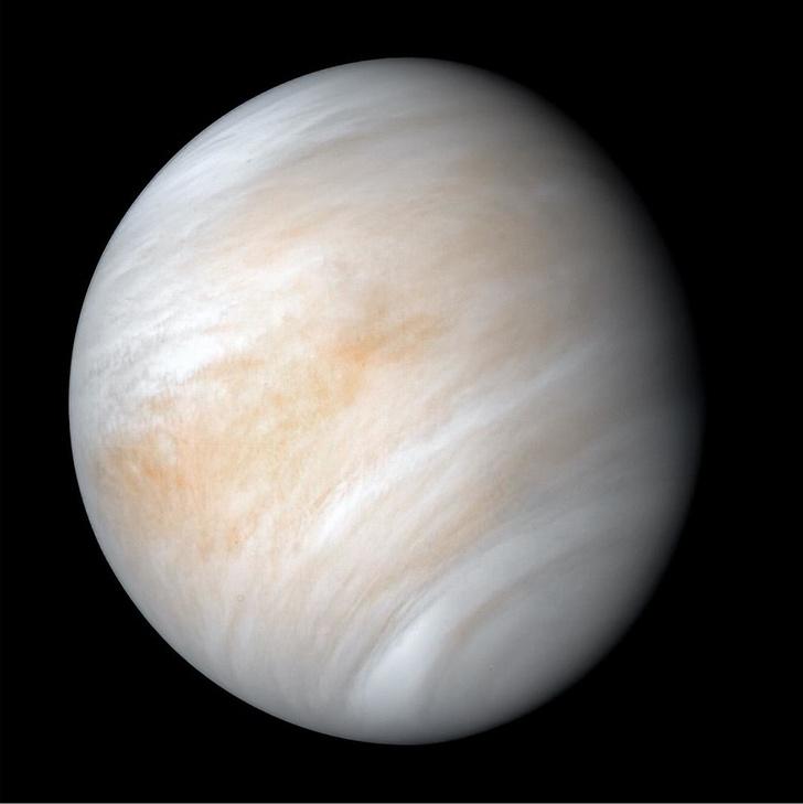 Фото №1 - Исследование венерианской атмосферы ставит под сомнение возможность существования в ней жизни
