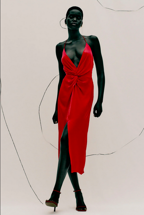 Фото №5 - Это все о страсти: Zara выпустила коллекцию полностью в красном цвете