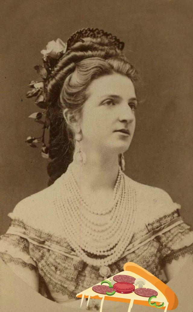 Фото №2 - Открытие дня: пицца «Маргарита» была названа в честь королевы Маргариты Савойской