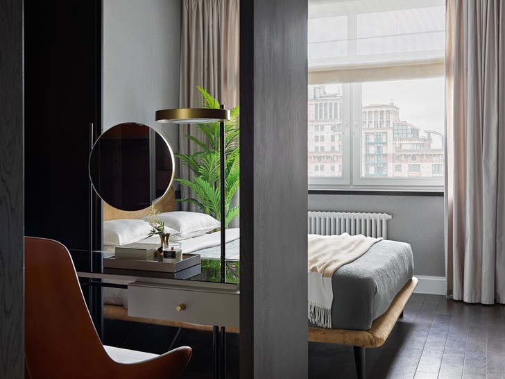 Фото №10 - Новая классика в серых тонах: квартира 100 м² в Москве