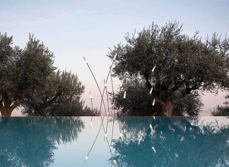 Уличный светильник Nilo, дизайн Маттео Уголини для Karman, 2020.