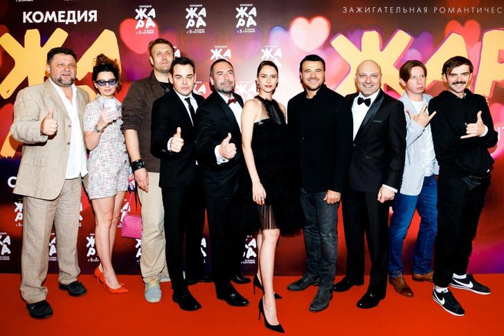 Фото №1 - Самая звездная комедия года: в Москве состоялась премьера фильма «Жара»