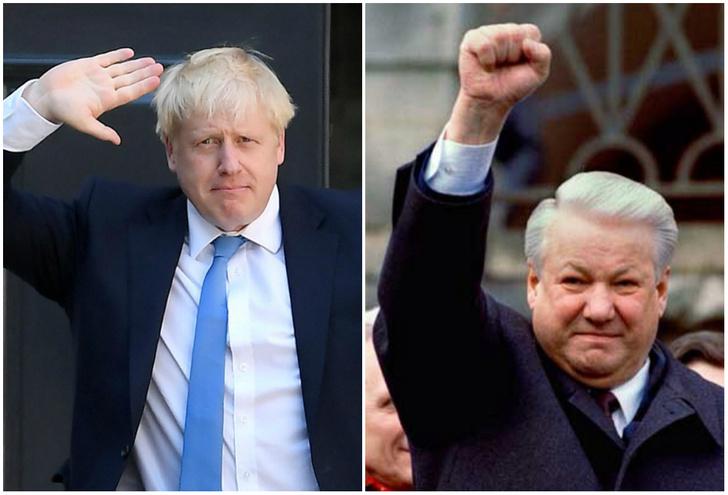 Фото №1 - Премьер-министр Израиля перепутал Бориса Джонсона с Борисом Ельциным (видео)