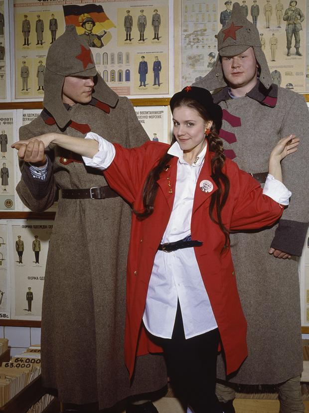 Фото №1 - «Красные звезды перестройки»: популярные советские актрисы в съемке американского фотографа, 1988 год