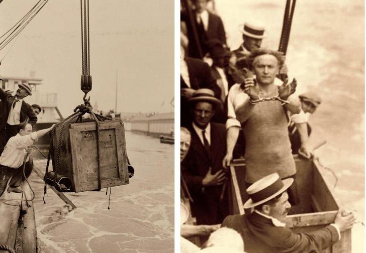 Фото №7 - Следите за руками: 5 знаменитых трюков Гарри Гудини, секрет которых удалось раскрыть