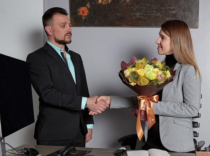 Фото №1 - Деловой букет для бизнес-партнера: правила и исключения