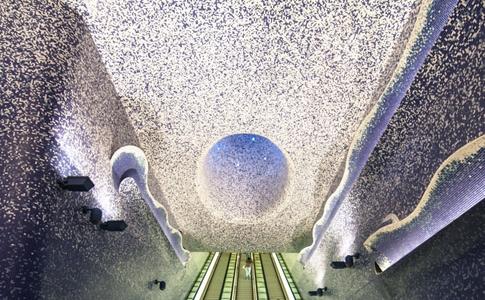 Фото №4 - Подземные дворцы и не только: самые красивые в мире станции метро