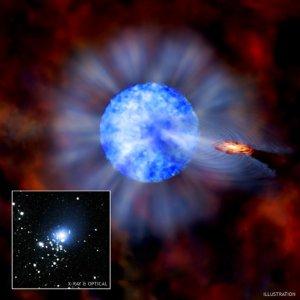 Фото №1 - В небе обнаружена огромная черная дыра