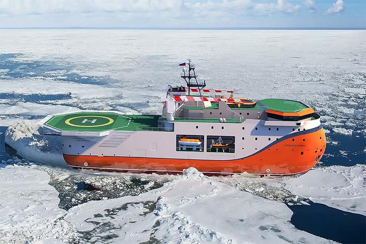 Фото №1 - Американцы назвали новое российское судно «самым уродливым из всех, какие людям доводилось видеть»