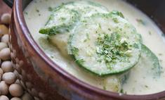 Суп из молодых кабачков
