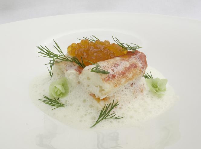 Фото №4 - Что едят шеф-повара: камчатский краб с соусом из шампанского