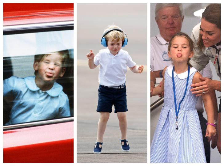 Фото №1 - 10 случаев, когда королевские дети показывали характер
