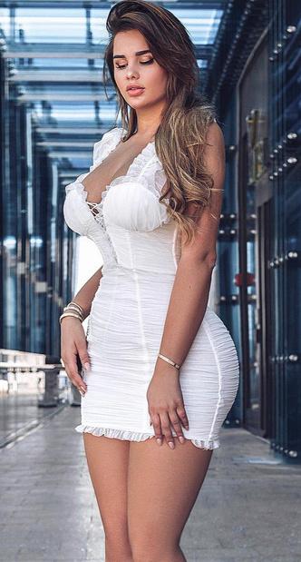 Фото №14 - Как платья и топы Квитко выглядит на худых моделях: 20 фото