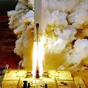 Фото №1 - Ракета со спутником не добралась до орбиты