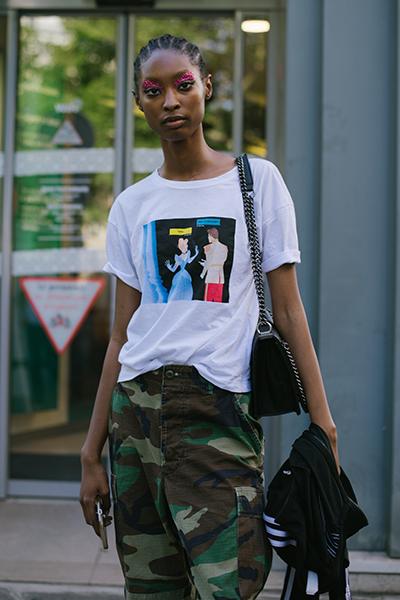 Street style на Неделе высокой моды в Париже, FW 2019/2020