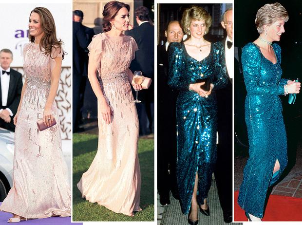 Фото №1 - 15 примеров, когда королевские особы надевали одно и то же вечернее платье несколько раз