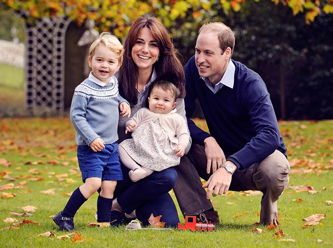 Фото №13 - Принцесса Шарлотта Кембриджская: первый год в фотографиях