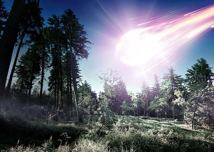 Фото №2 - 110 лет назад… Над Сибирью пролетел Тунгусский метеорит