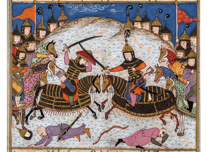 Фото №1 - Выставка «Сюжеты и образы Низами» в Музее Востока