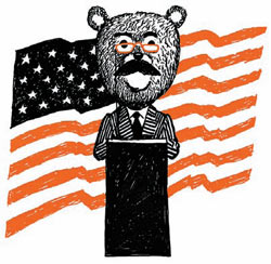 Фото №1 - Почему американского плюшевого медведя называют Тедди?