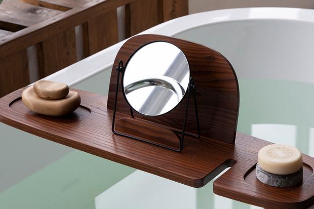 Фото №2 - Полка для ванной: дизайн Анны Струпинской для Amovino